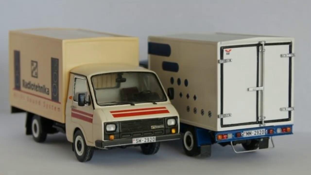 Малотоннажные грузовики РАФ