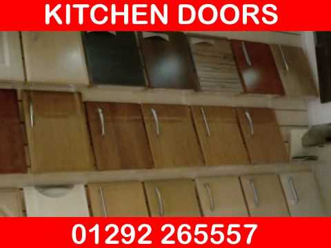 kitchen cabinet replacement banquette bench how to make doors & - youtube