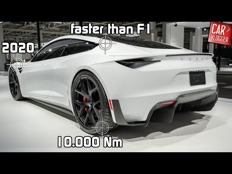 SNEAK PREVIEW the NEW Tesla Roadster 2020 | World's Fastest