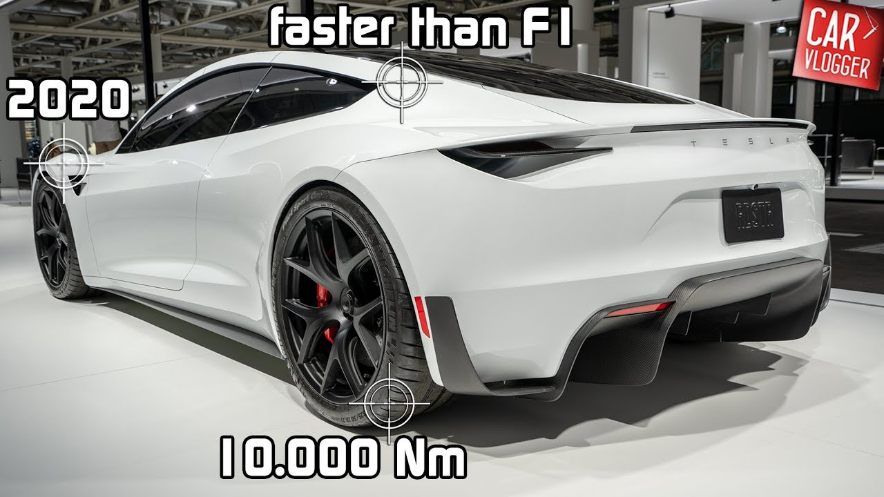 New Tesla Roadster Vs Bugatti Chiron Nasty Cleantechnica
