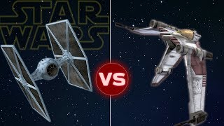 V19 Torrent Starfighter vs Tie Fighter | Star Wars: Who Would Win