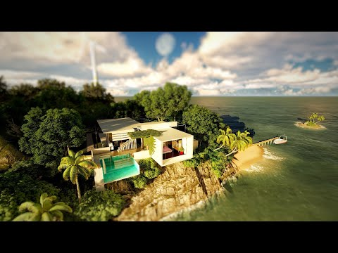 """One Island one home"" Personal project 5"