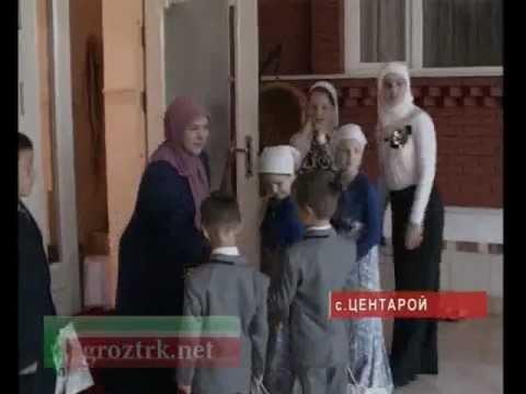 Молодые кадыровцы празднуют Ураза-Байрам Чечня.