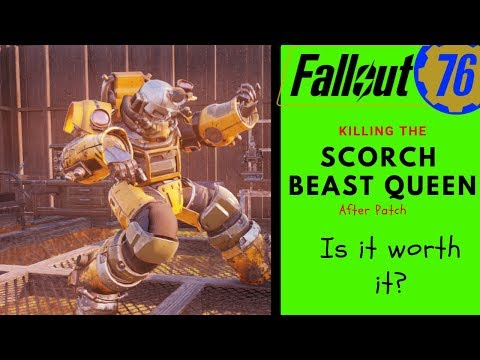 Fallout out 76 Scorch Beast Queen - The After Patch thumbnail