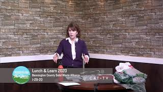 Lunch and Learn // Bennington County Solid Waste Alliance