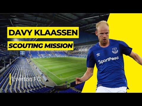 Scouting Mission: Davy Klaassen | Everton FC | Netherlands
