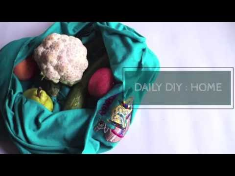 Daily DIY Home- Recycled Grocery Bag