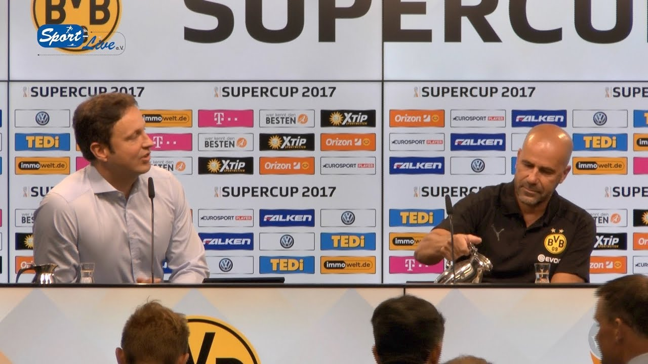PK zum Super-Cup 2017 BVB-Bayern München