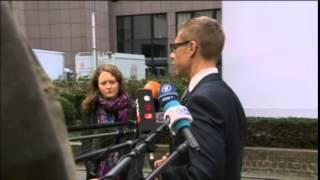 Finlands statsminister vs Stefan Löfven på EU-toppmöte
