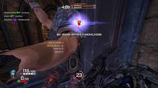 Quake Champions RailGun Gameplay