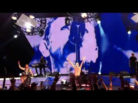 Depeche Mode - Personal Jesus (LIVE Mountain View Shoreline 9-26-2013)