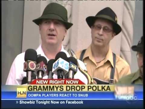 Mark Rowland Polka Band On Jimmy Kimmel Live