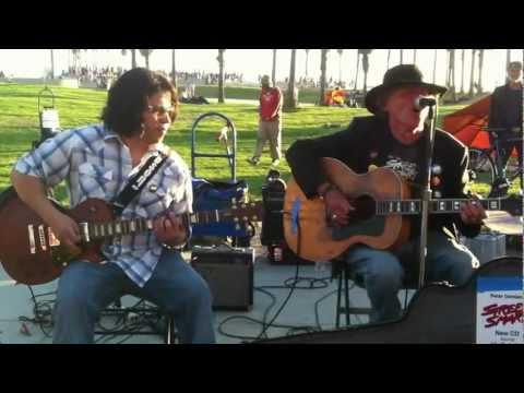 "Little Richard's ""Slippin' & Slidin'"" - Peter Damian w/ David Martinez in Venice, California"
