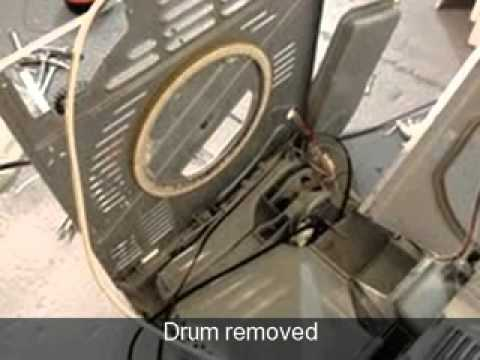 how to replace the drum on a tumble dryer ariston creda. Black Bedroom Furniture Sets. Home Design Ideas