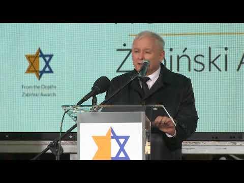 Jarosław Kaczyński - Wystąpienie Prezesa PiS podczas uroczystości wręczenia nagród im. Żabińskich