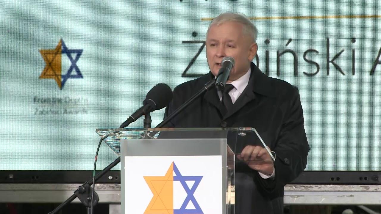 Jarosław Kaczyński – Wystąpienie Prezesa PiS podczas uroczystości wręczenia nagród im. Żabińskich