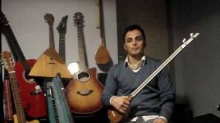 BASIC Setar Lesson Part 1(Basics) By Arash Aria آموزش مقدماتی سه تار قسمت اول