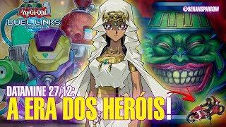 A ERA DOS HERÓIS! (datamine 27.12) - Yu-Gi-Oh! Duel Links #556