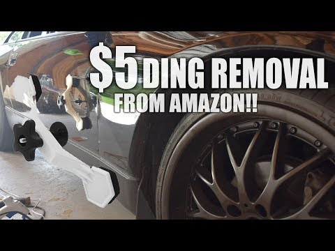 $5 Amazon Ding/Dent Removal Tool Review...  Is It Worth It?