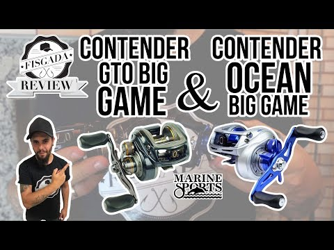 FISGADA REVIEW #12 - CONTENDER GTO BIG GAME & OCEAN BIG GAME - MARINE SPORTS