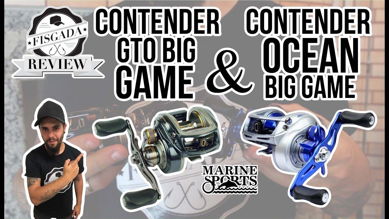 REVIEW #12 – CONTENDER GTO BIG GAME & OCEAN BIG GAME – MARINE SPORTS