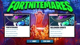 "NEW HALLOWEEN Event ""FORTNITEMARES"" in Fortnite (GHOUL TROOPER SKINS CONFIRMED for HALLOWEEN)"