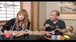 2011年8月12日読売TV ニッポン!おもてなし旅の番組取材で南明菜奈さん...