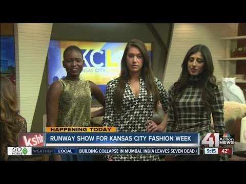 Models will hit the runway for Kansas City Fashion Week.