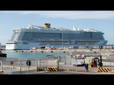 video: 66 Britons among the 7,000 passengers and crew trapped on cruise ship in Italy over coronavirus fears