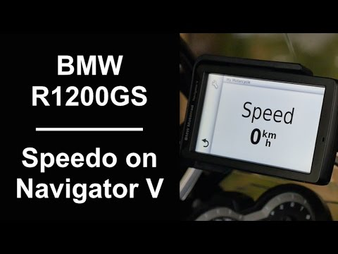 setting up digital speedo on bmw r1200gs navigator v youtube. Black Bedroom Furniture Sets. Home Design Ideas
