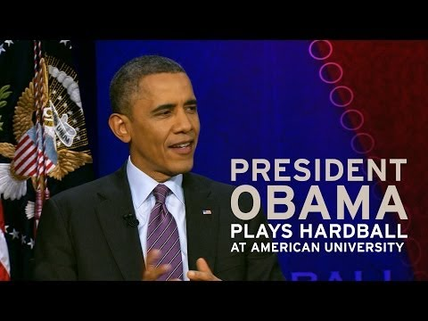 President Obama Plays Hardball at American University