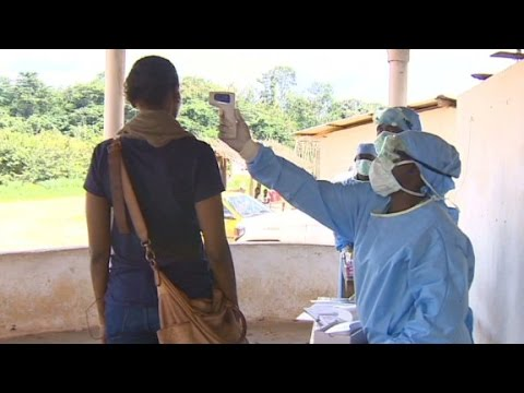 Paranoia 'the worst part' of covering Ebola
