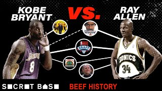 Download Kobe Bryant's beef with Ray Allen was short, but haunted Kobe for years Mp3 and Videos