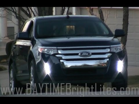 Ford Edge Drl New Turn Signal Lighting Sequence