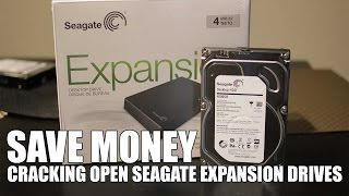 Save money cracking open / disassemble seagate expansion drive 4tb