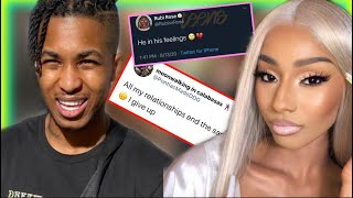 DDG BREAKS UP With Rubi Rose But She Says He's In His Feelings