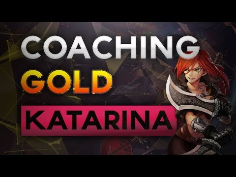 Pre Season 8 LoL Coaching - How To Play Katarina (Silver-Gold Elo)