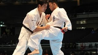 THE 45TH ALL JAPAN OPEN KARATE TOURNAMENT men 3rd round Kazufumi Sh...
