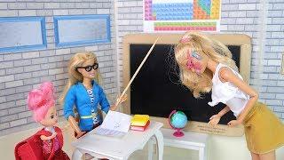 ЗАСТАВИЛА МАМУ КРАСНЕТЬ Мультик #Барби Про Школу Куклы #Игрушки Для детей IkuklaTV