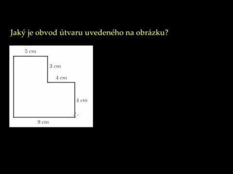 Jak vypočítat obvod Mnohoúhelníku? 3. třída MATEMATIKA; www.pochopitelnamatematika.cz
