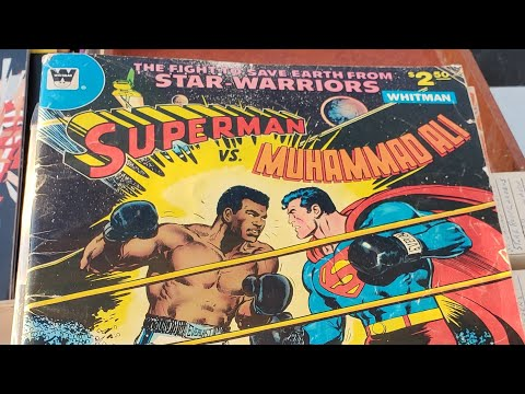Vintage Toy Hunting#11 Muhammad Ali VS Superman For $1