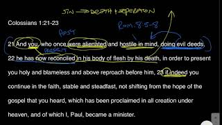 The Gospel That You Heard - Colossians 1:21-23 Bible Study