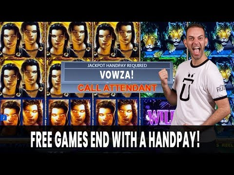 🤑 High Limit HANDPAY On Shadow Of The Panther 🙀 Plus $25 SPINS On Green Vault 💵