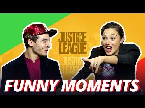 Thumbnail: GAL GADOT IS A CHEATER - Justice League Cast Funny Moments - 2017
