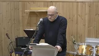 """Kazanie """"Świadomi swojego wybrania"""" (27.11.16) – pastor Andrzej Cyrikas"""