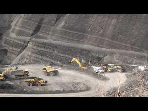 Open Pit Coal Mine