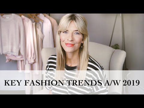 Key Fashion Trends Autumn (Fall) 2019 | How To Style