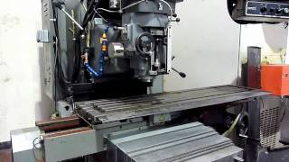 XYZ DPM 4000 3 Axis Bed Type CNC Milling Machine.mov
