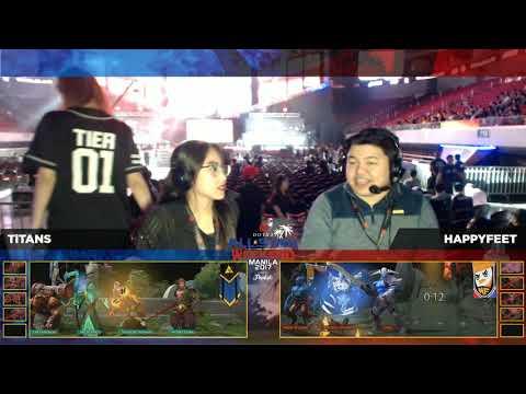 TaskUs Titans vs HappyFeet BO1 | Manila Challange | All Star Weekend Manila