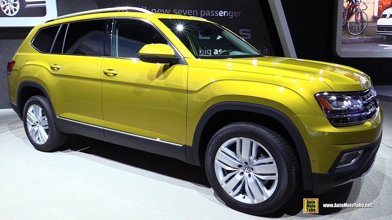 2018 Volkswagen Atlas Exterior And Interior Walkaround Debut